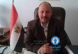 المحاسب عبد العزيز محمد رئيس حى شرق المنصورة