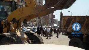 محافظ الدقهلية يقوم بجولة مفاجئة بشارع قناة السويس3
