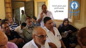 قاد المجلس التنفيذي برئاسة اللواء احمد بسيوني