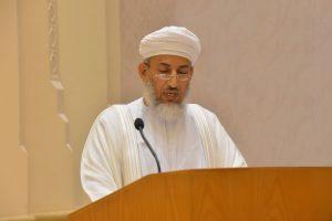 وزير الأوقاف والشئون الدينية العُماني الشيخ عبدالله السالمي