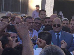 نائب شربين يطالب محافظة الدقهلية بزيادة الدعم المقدم للصحة والطرق1