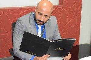 كريم مأمون … يتقلد منصب مدير مبيعات مشروع لايف بارك 2